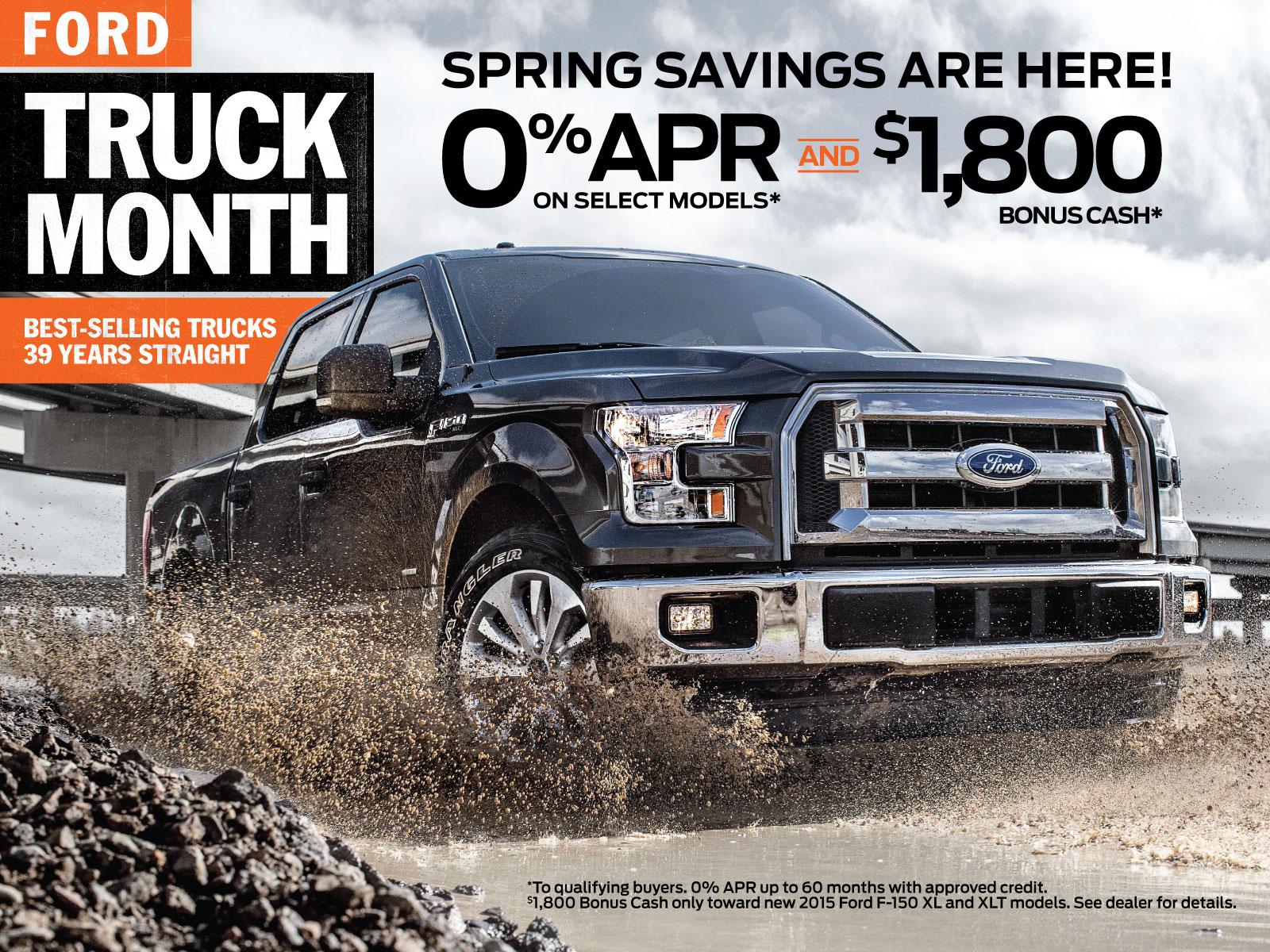 Buy a Ford F-150 Truck with 0% APR Financing
