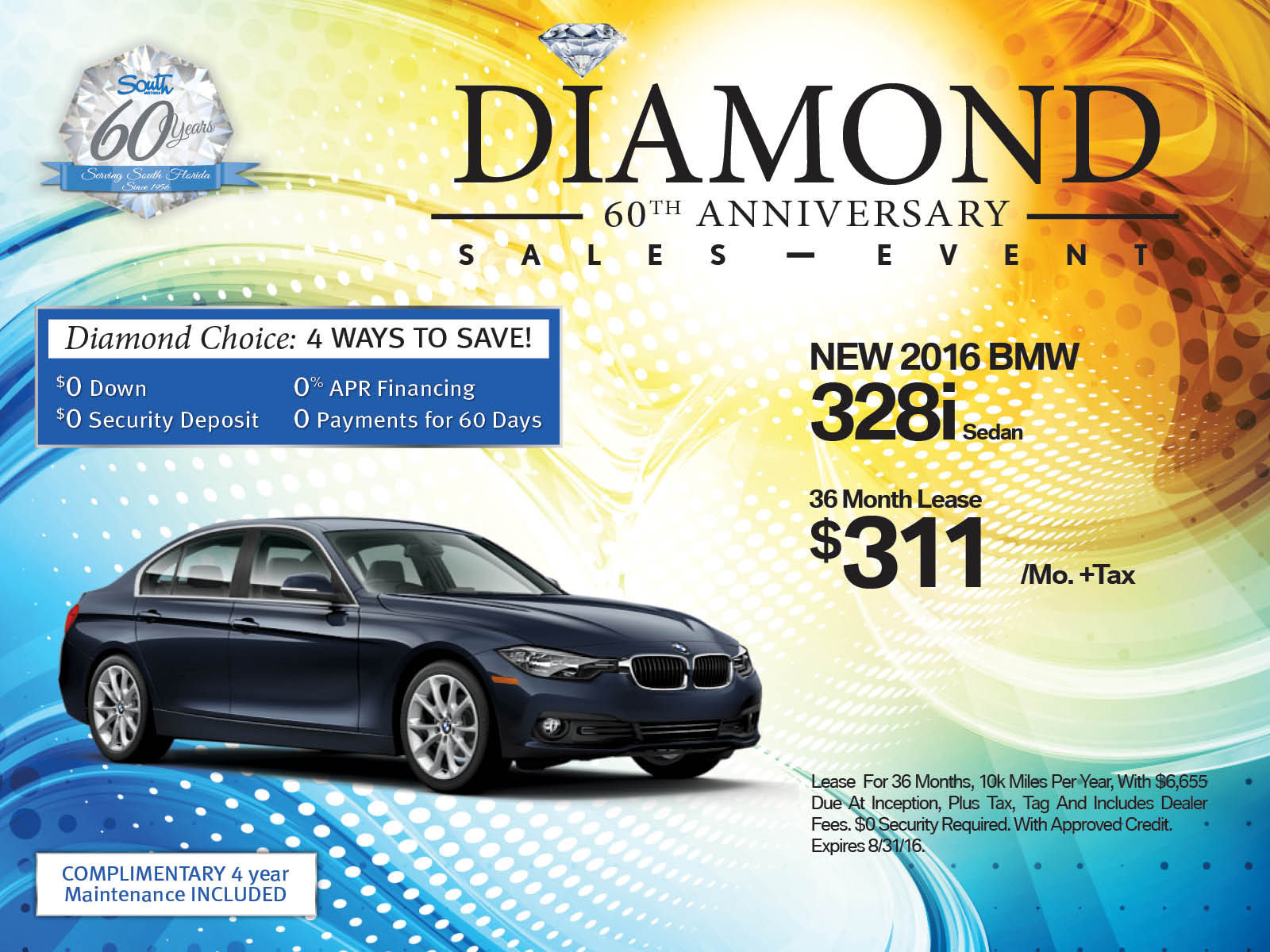 BMW 3 Series lease offer