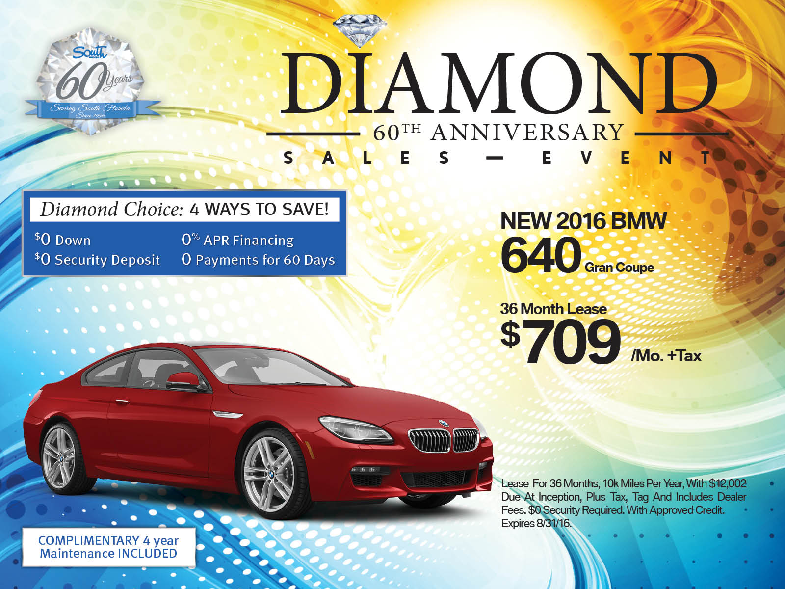 BMW 6 Series lease offer