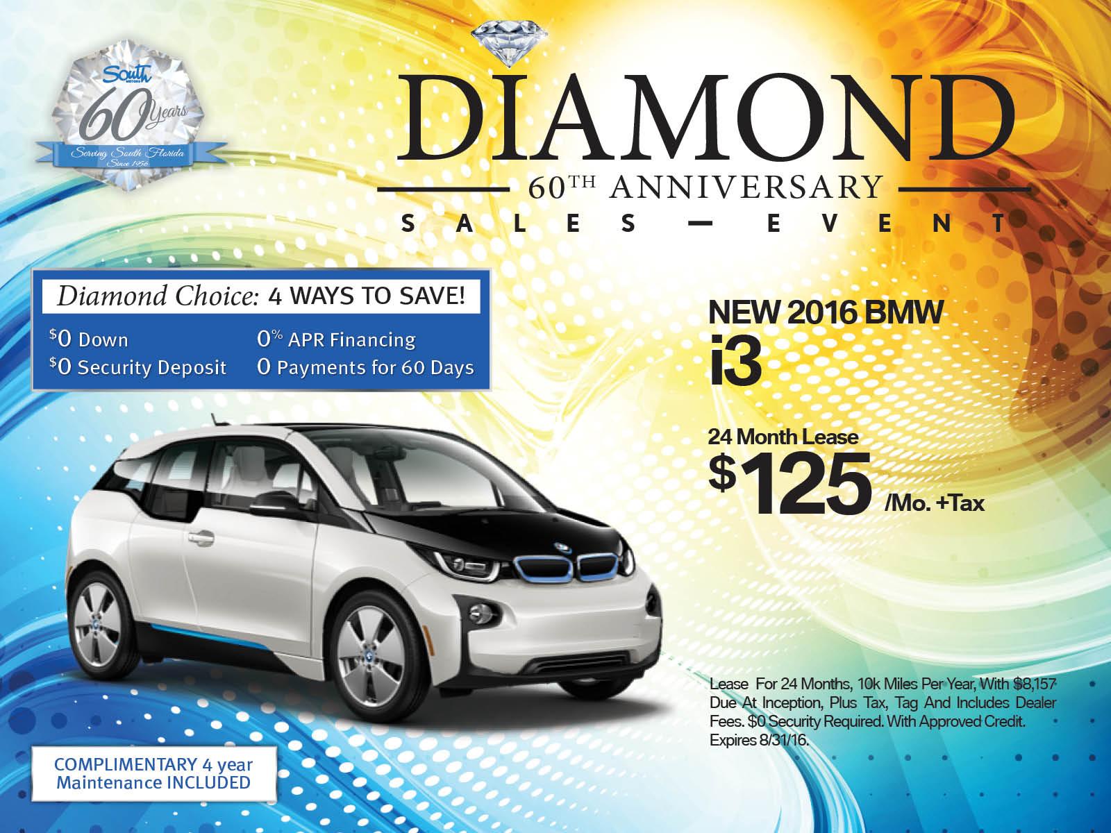 BMW i3 lease offer