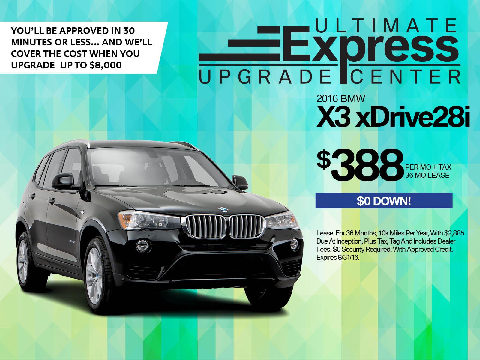 BMW X3 Miami FL