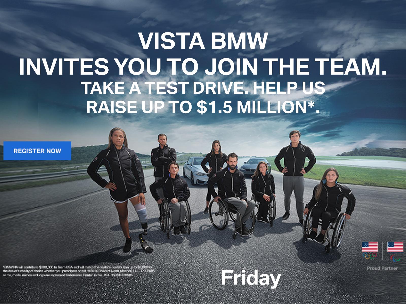 BMW Team USA Event