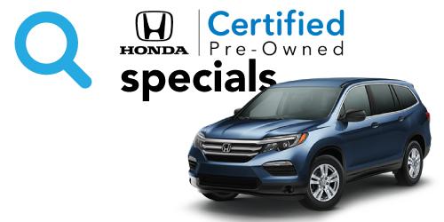 Honda CPO offers
