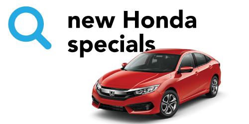 Honda new car inventory