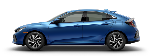 New 2017 Honda Civic LX Hatchback Automatic