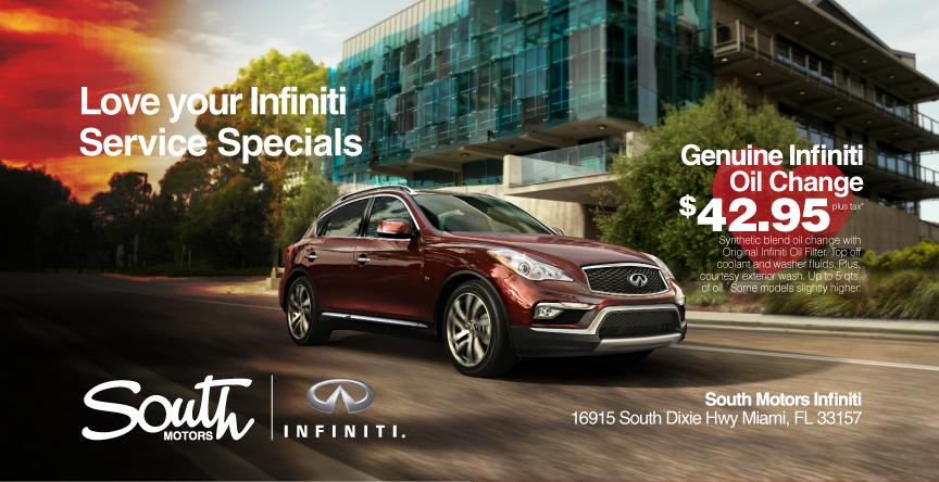 Infiniti car service coupons