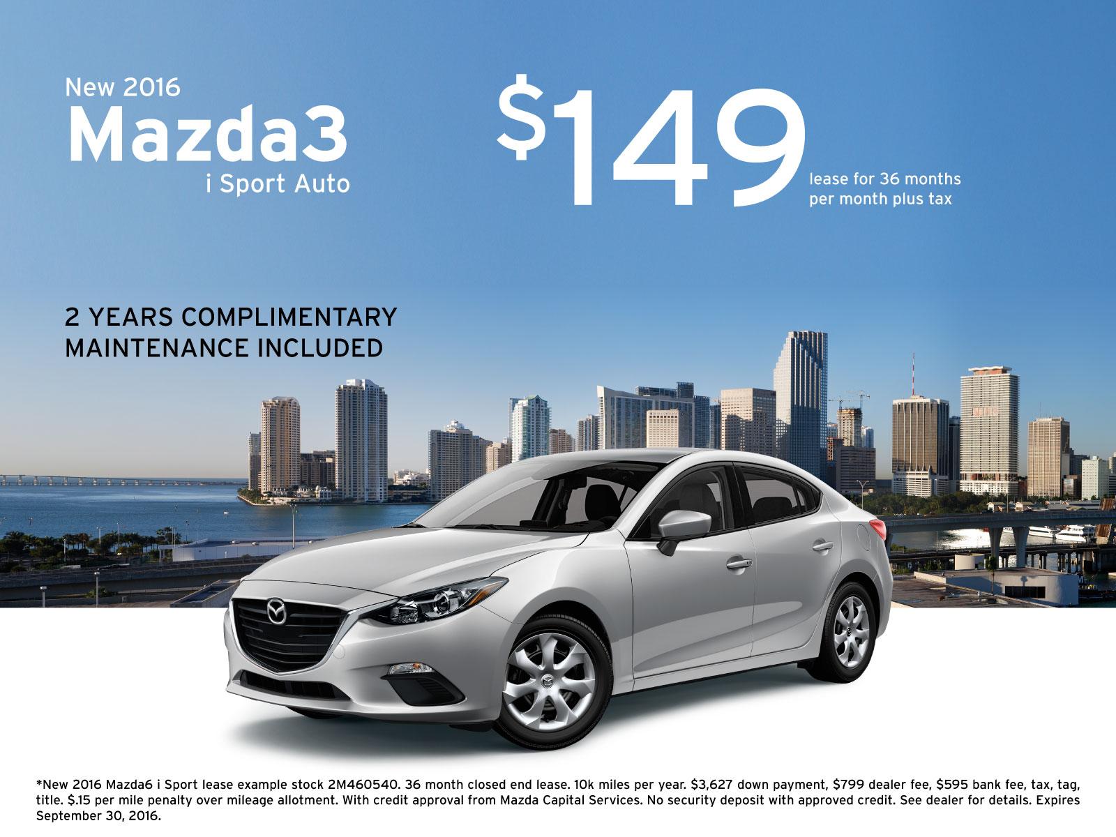 Mazda3 Specials in Miami