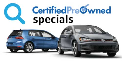vw CPO offers