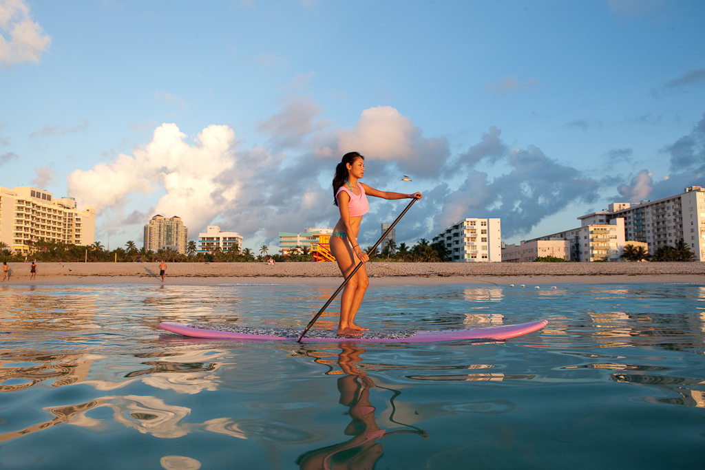 Paddleboarding Makes Waves In South Florida